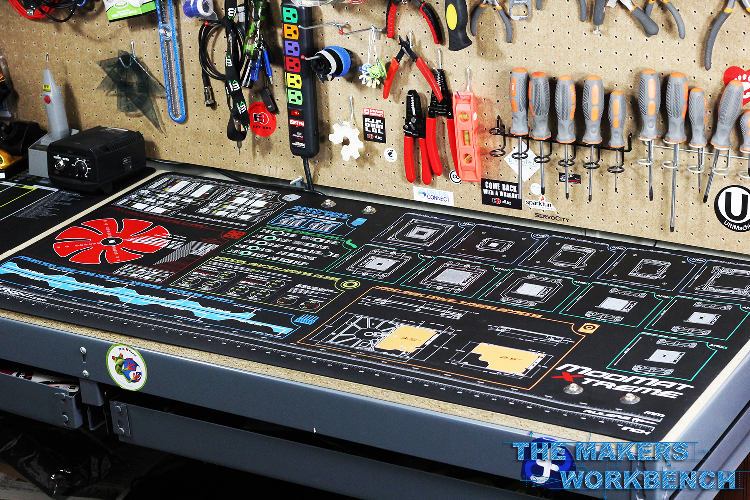 Review: ModRight Xtreme and Main Board Anti-Static ModMats | The ...