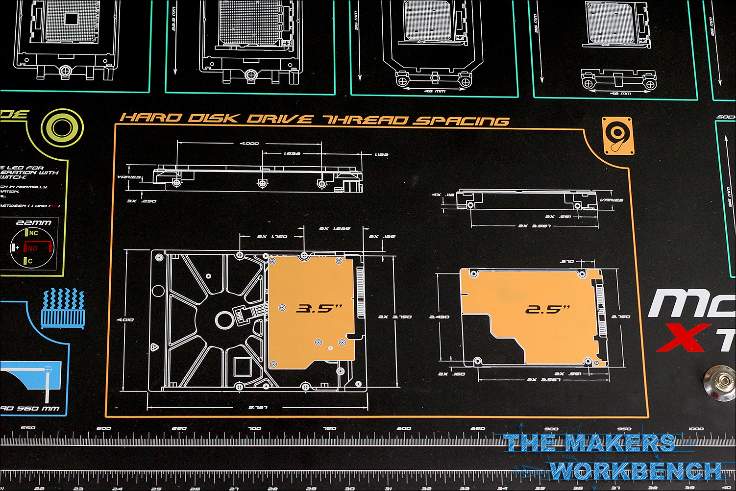 Review Modright Xtreme And Main Board Anti Static Modmats The Motherboard Components Diagram Mainboard