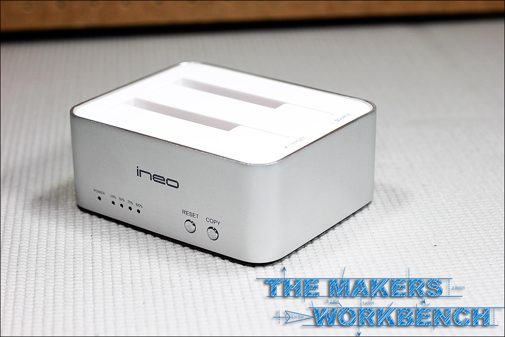 INEO USB / SSD Docking Station and Drive Cloner
