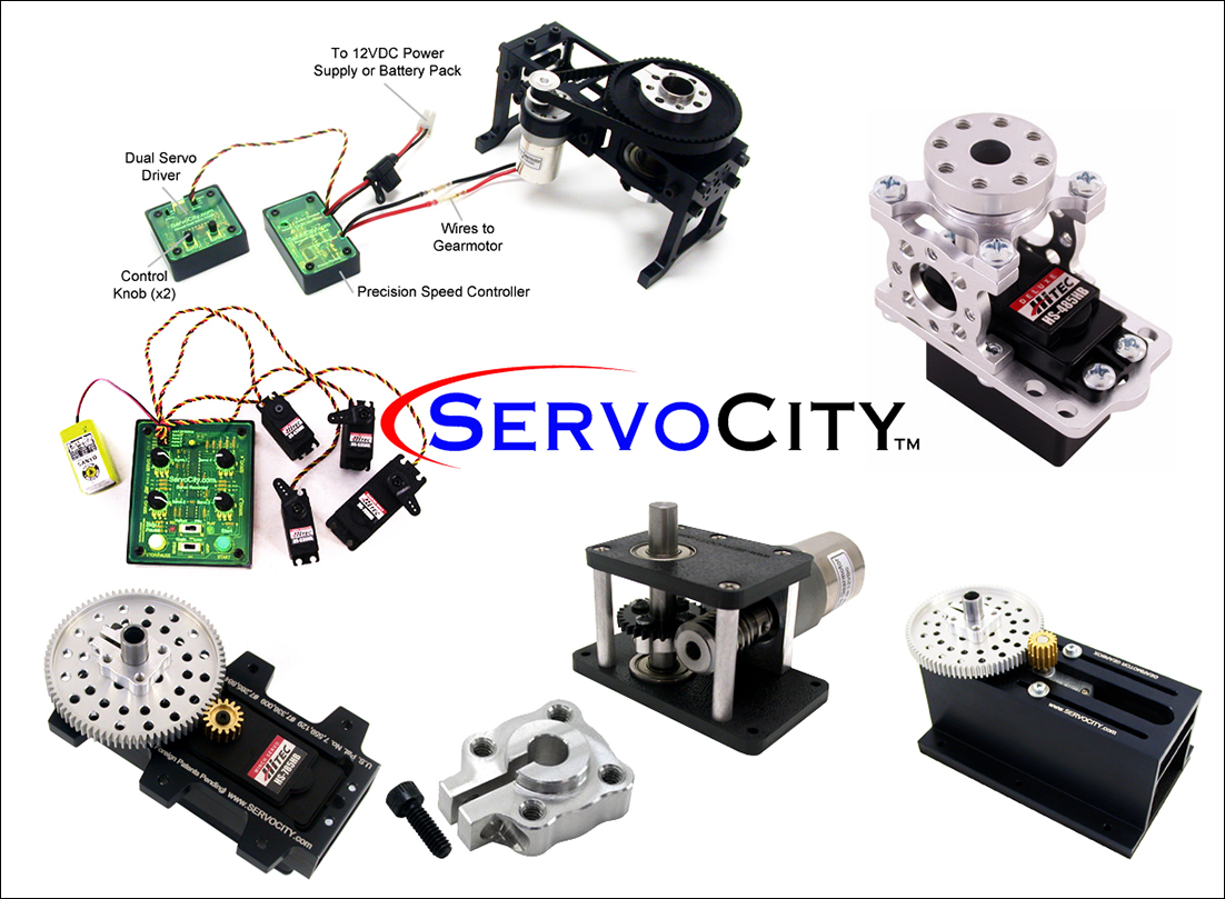 Welcome ServoCity.com as our newest sponsor.