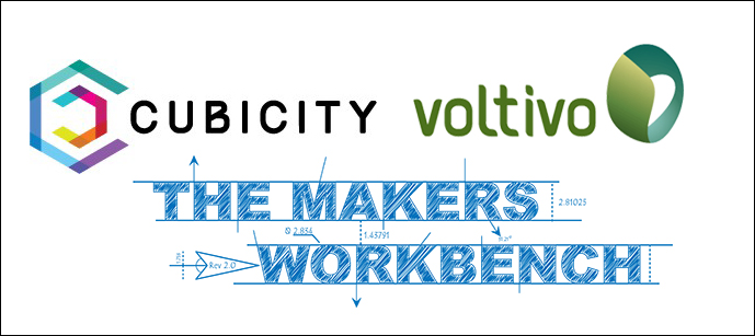 Voltivo and Cubicity sponsor TheMakersWorkbench Into 2015!