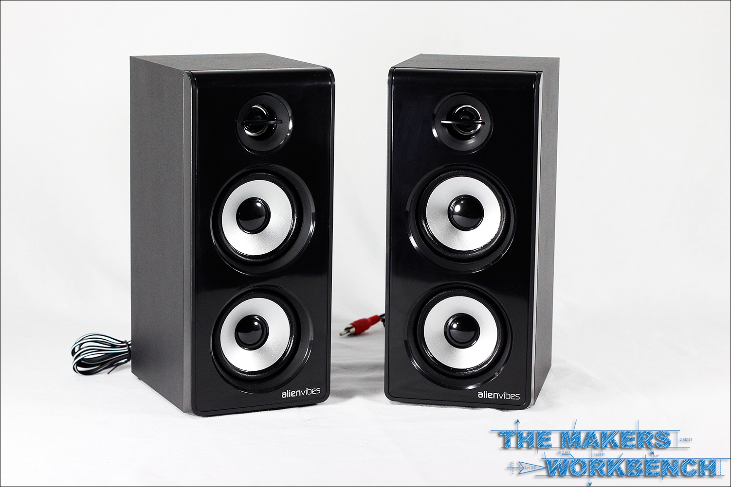 AlievVibes W402 Satellite Speakers Review