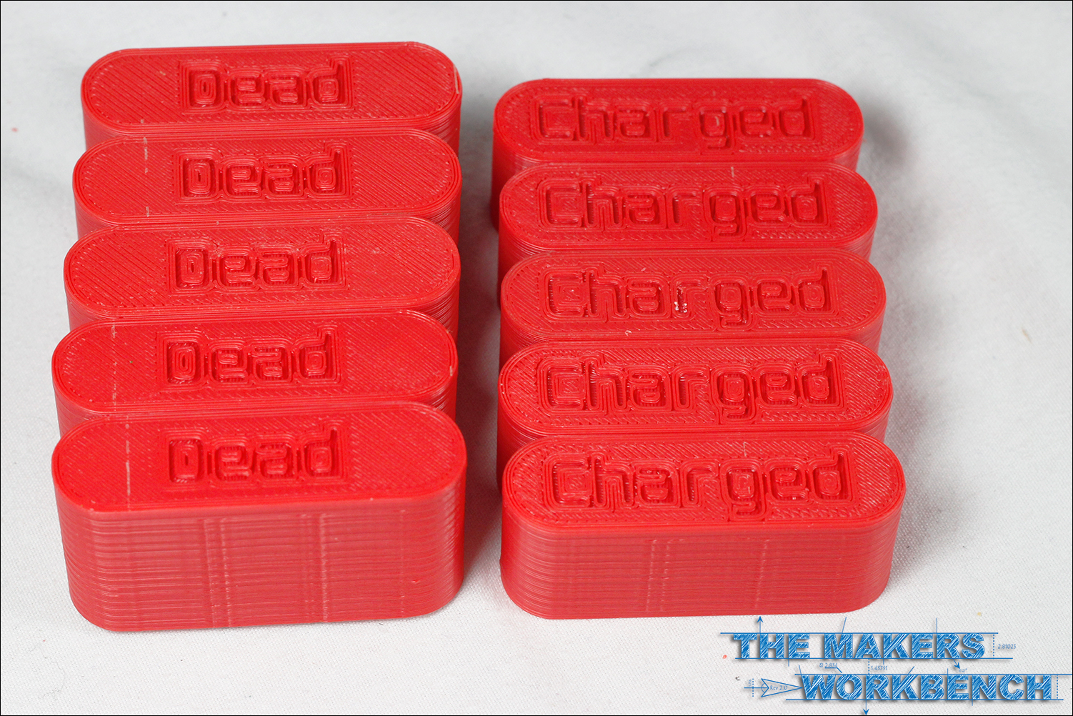 3D Printed AA Battery Case
