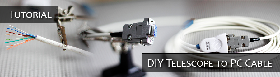 DIY Telescope to PC Cable