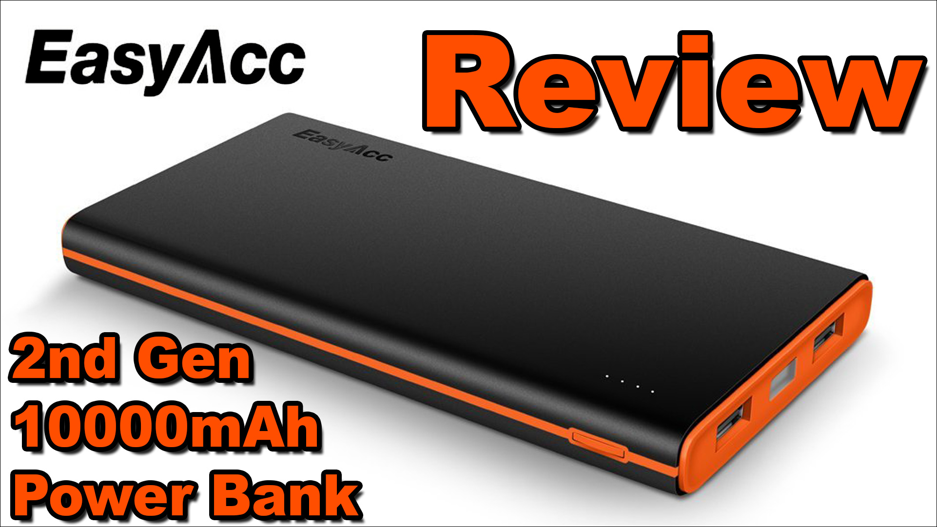 review easyacc 2nd gen 10000mah power bank the makers workbench. Black Bedroom Furniture Sets. Home Design Ideas