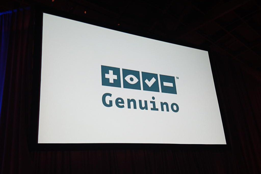 Arduino.cc and Adafruit announce new Arduino brand, Genuino, at Bay Area Maker Faire 2015.