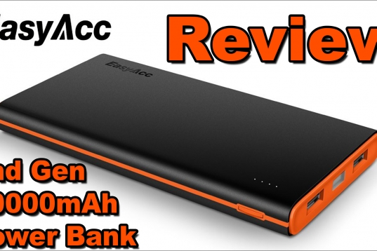 EasyAcc 2nd Gen. 10000mAh Power Bank PB10000CF Review