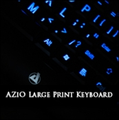 Review: AZiO KB505U Large Print Keyboard