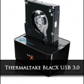 Thermaltake Blac X 5G USB 3.0 HDD Docking Station.