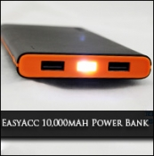 Review: EasyAcc 2nd Gen. 10000mAh Power Bank