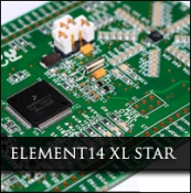 Element14 and Freescale's  XL-STAR- S08 Development Board.