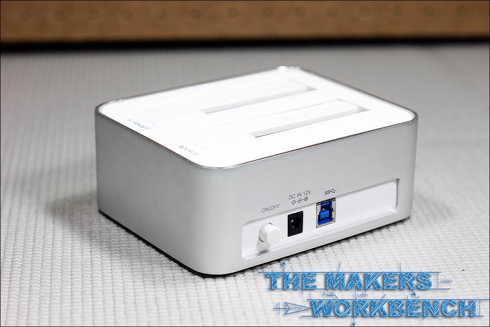 INEO I-NA321U+ HDD / SSD Docking Station and Drive Cloner