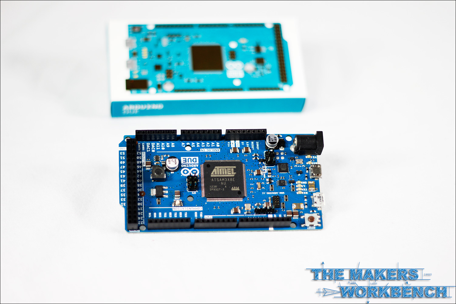 Arduino Due unboxing, micro review, mailbag