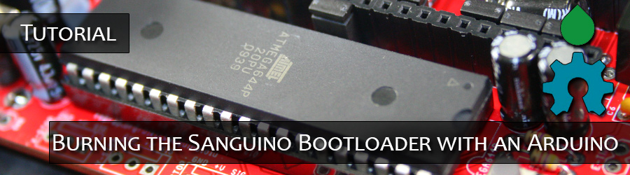Burning Sanguino Bootloader with Arduino