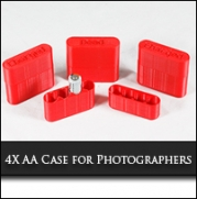 3D Printed AA Battery Case for Photographers3D Printed AA Battery Case for Photographers Printed on Lulzbot AO-100