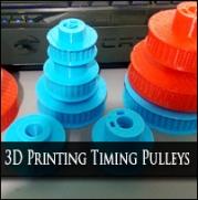 3D Printing Timing Pulleys
