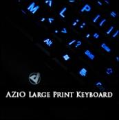 Review: AZiO KB505U Large Print Keyboard